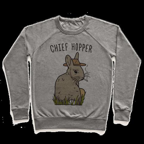 Chief Hopper Parody Pullover