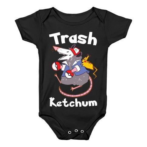 Trash Ketchum Baby Onesy
