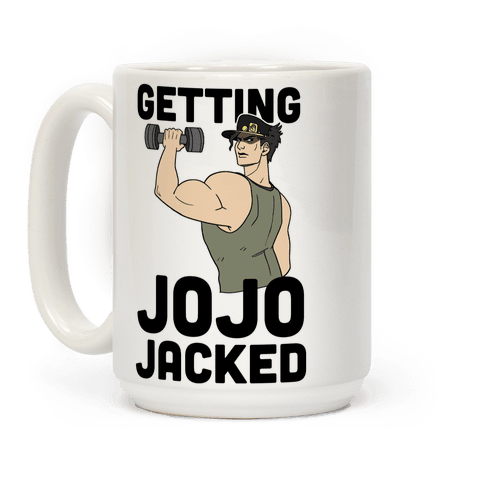 Getting Jojo-Jacked Coffee Mug