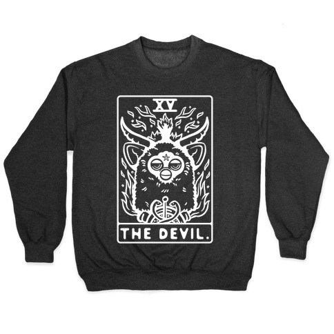 The Devil Tarot Card Furby Pullover