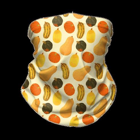 Squash Pattern Neck Gaiter
