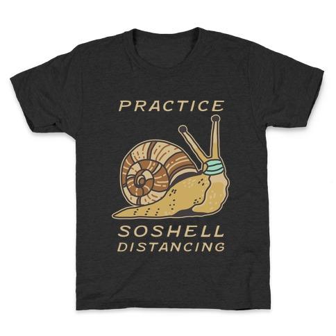 Practice SoShell Distancing Kids T-Shirt