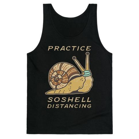 Practice SoShell Distancing Tank Top
