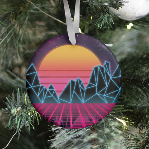 Synthwave Ornament