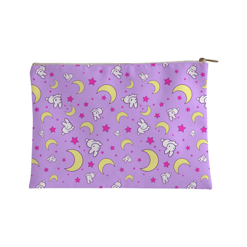 Sailor Moon's Bedding Pattern Accessory Bag