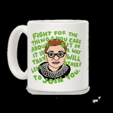 Fight Like Ruth Coffee Mug