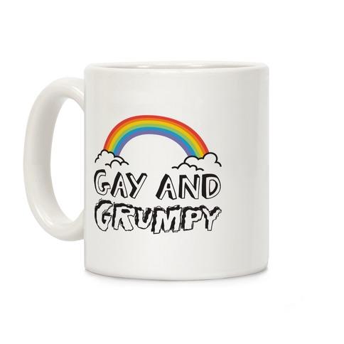 Gay And Grumpy Coffee Mug