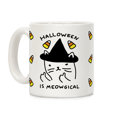 Halloween Is Meowgical Coffee Mug