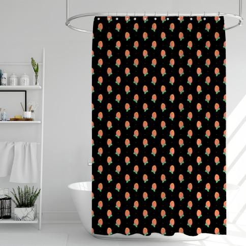 Butt Peaches Shower Curtain