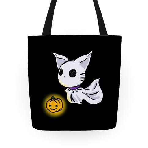 Ghost Cat Tote