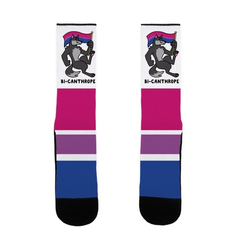 Bi-canthrope Sock