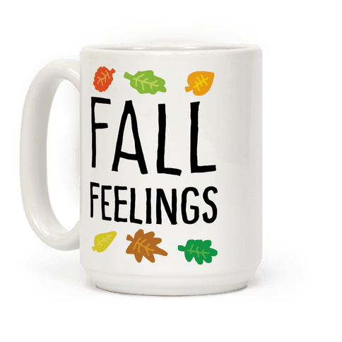 Fall Feelings Coffee Mug