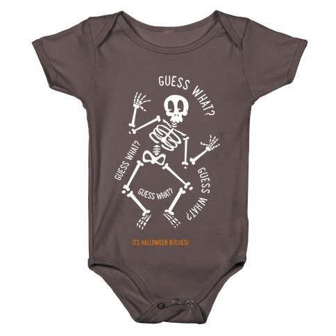 Guess What? Baby One-Piece