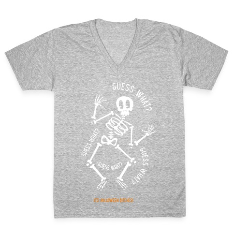 Guess What? V-Neck Tee Shirt