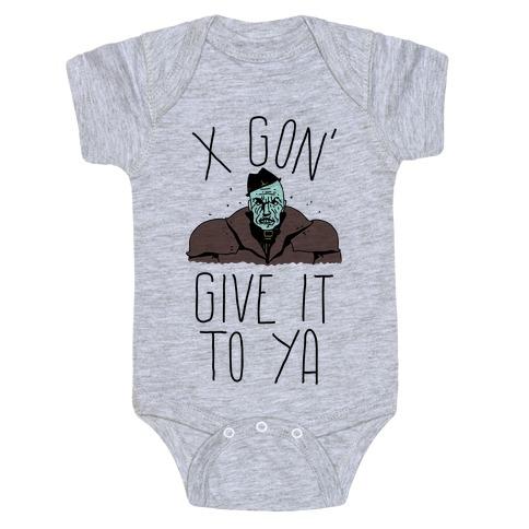 Mr X Gon' Give It to Ya Baby Onesy