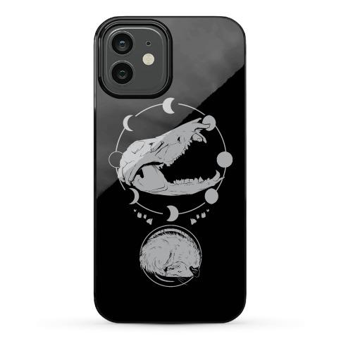 Occult Trash Possum Phone Case