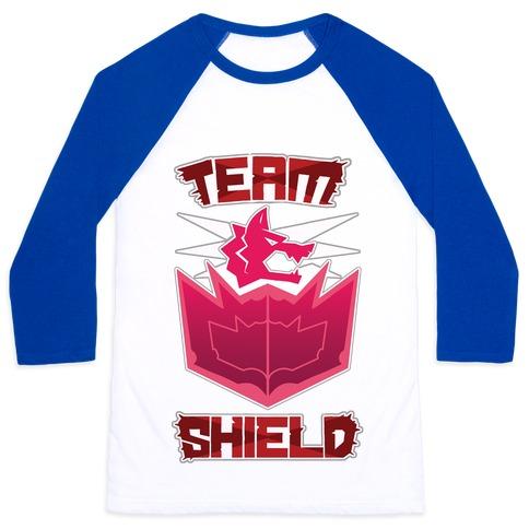 Team Shield Baseball Tee