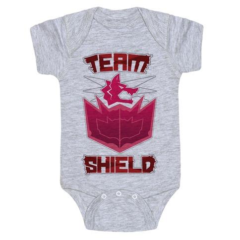 Team Shield Baby Onesy