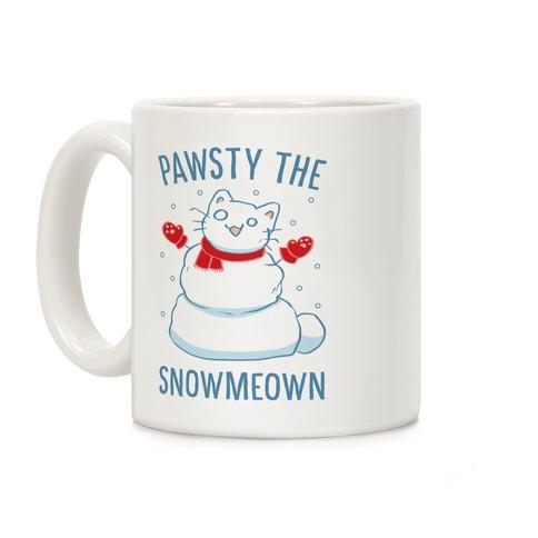 Pawsty The Snowmeown Coffee Mug