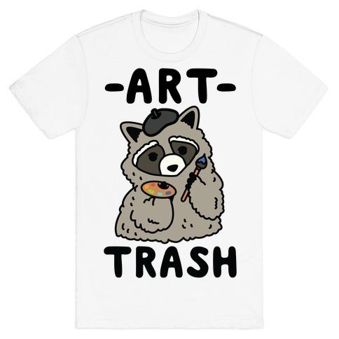 Art Trash Raccoon T-Shirt