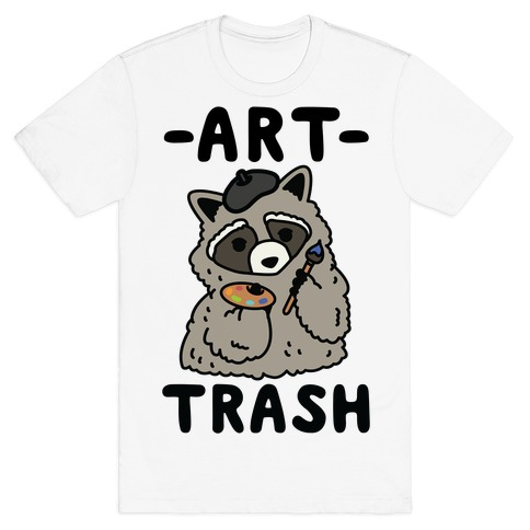 Art Trash Raccoon T-Shirt