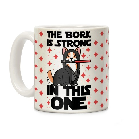 The Bork is Strong in This One Coffee Mug