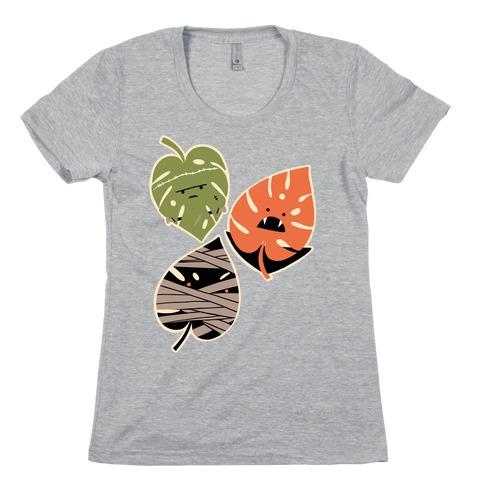 Classic Monstera Monsters Womens T-Shirt