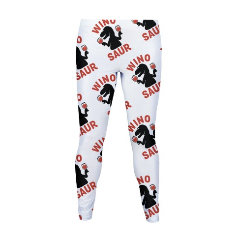 Winosaur Pattern Women's Legging