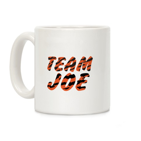 Team Joe Parody Coffee Mug