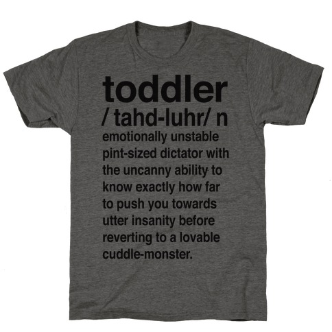 Toddler Definition T-Shirt