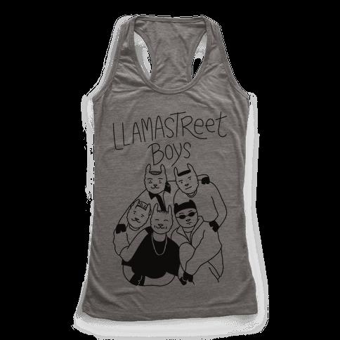 Llamastreet Boys Racerback Tank Top