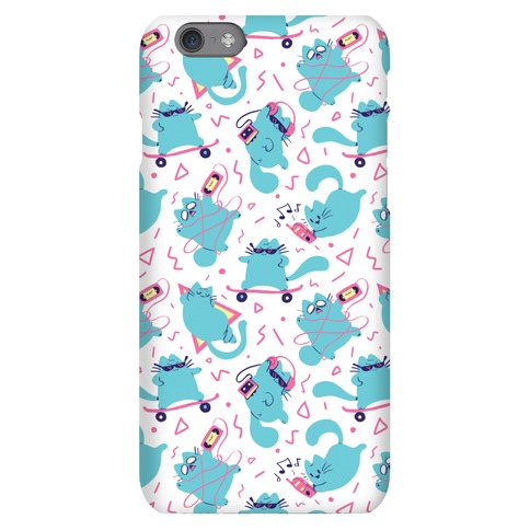 90's Cats Pattern Phone Case