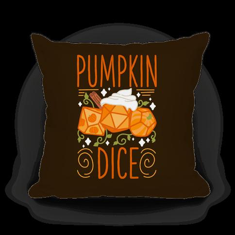 Pumpkin Dice Pillow