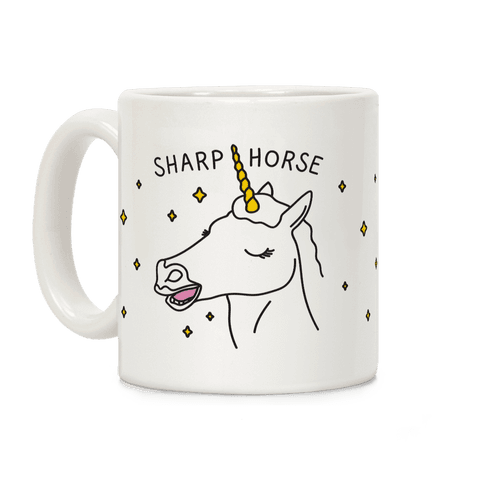 Sharp Horse Coffee Mug