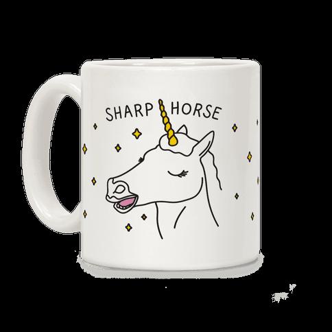 Sharp Horse Coffee Mug