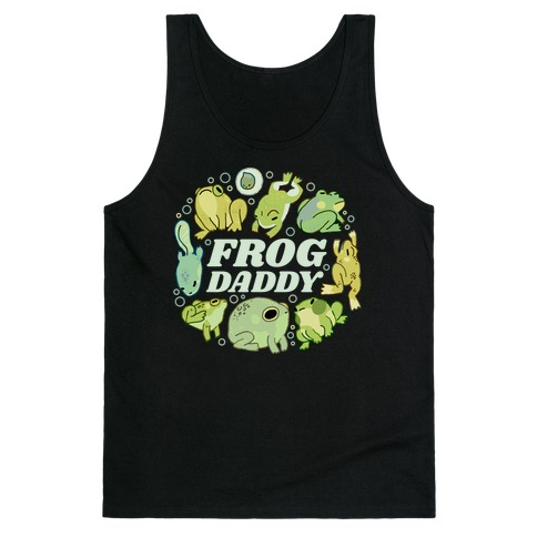 Frog Daddy Tank Top