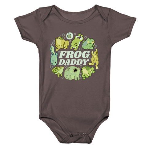 Frog Daddy Baby One-Piece