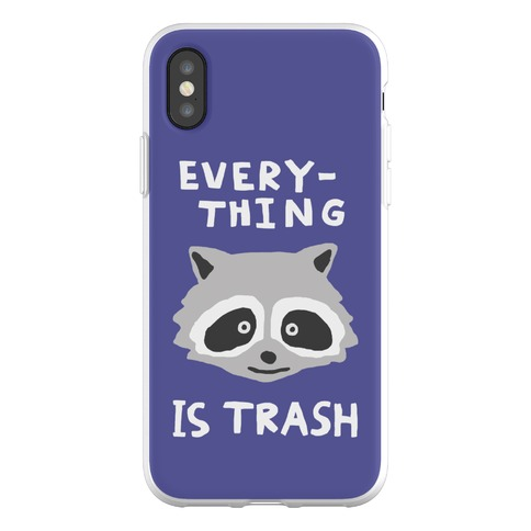 Everything Is Trash Phone Flexi-Case