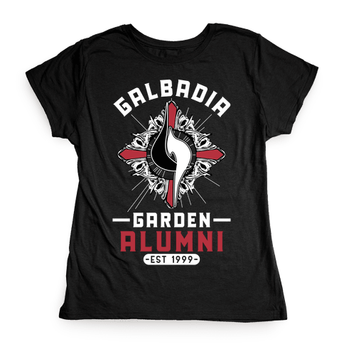 Galbadia Garden Alumni Final Fantasy Parody Womens T-Shirt