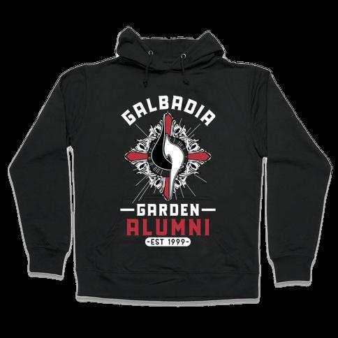 Galbadia Garden Alumni Final Fantasy Parody Hooded Sweatshirt