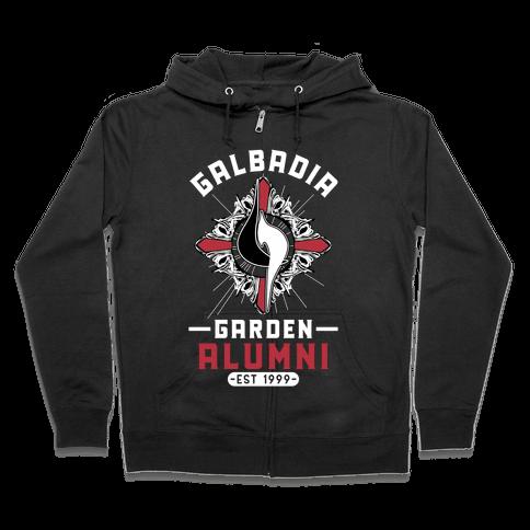 Galbadia Garden Alumni Final Fantasy Parody Zip Hoodie