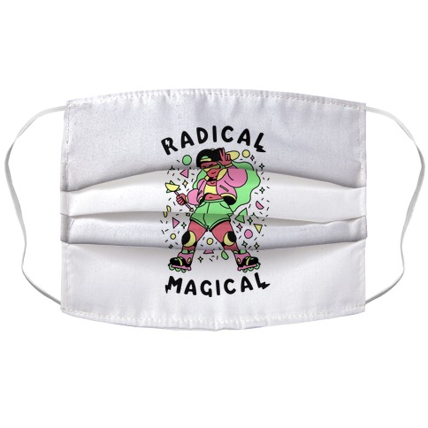 Radical Magical Accordion Face Mask