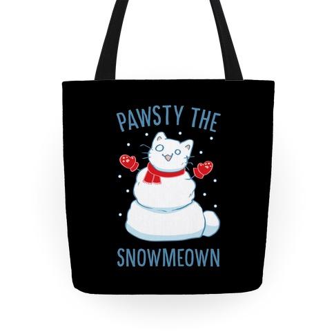 Pawsty The Snowmeown Tote