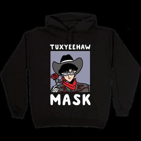 Tuxyeehaw Mask Hooded Sweatshirt