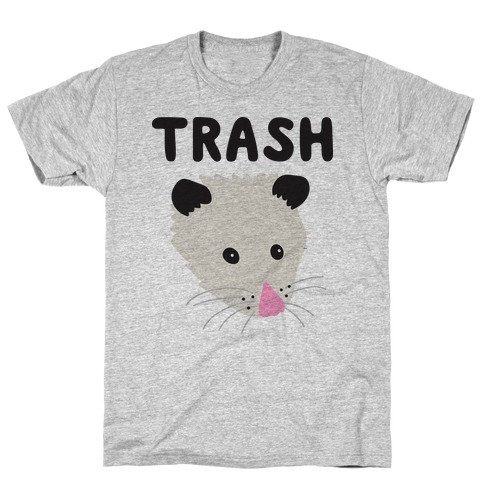 Trash Mates Pair - Opossum 1/2 T-Shirt