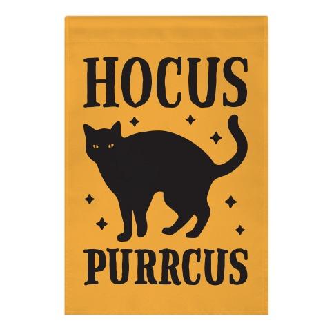 Hocus Purrcus Cat Garden Flag