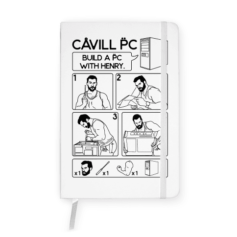 Cavill PC Parody Notebook