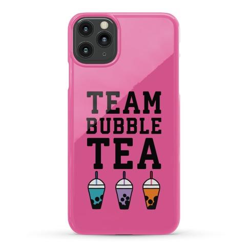 Team Bubble Tea Phone Case
