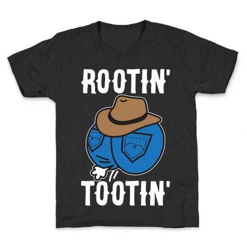 Rootin' Tootin' Cowboy Butt Kids T-Shirt