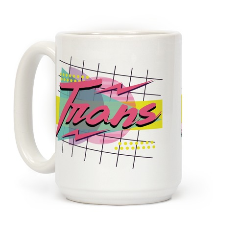Trans 80s Retro Coffee Mug